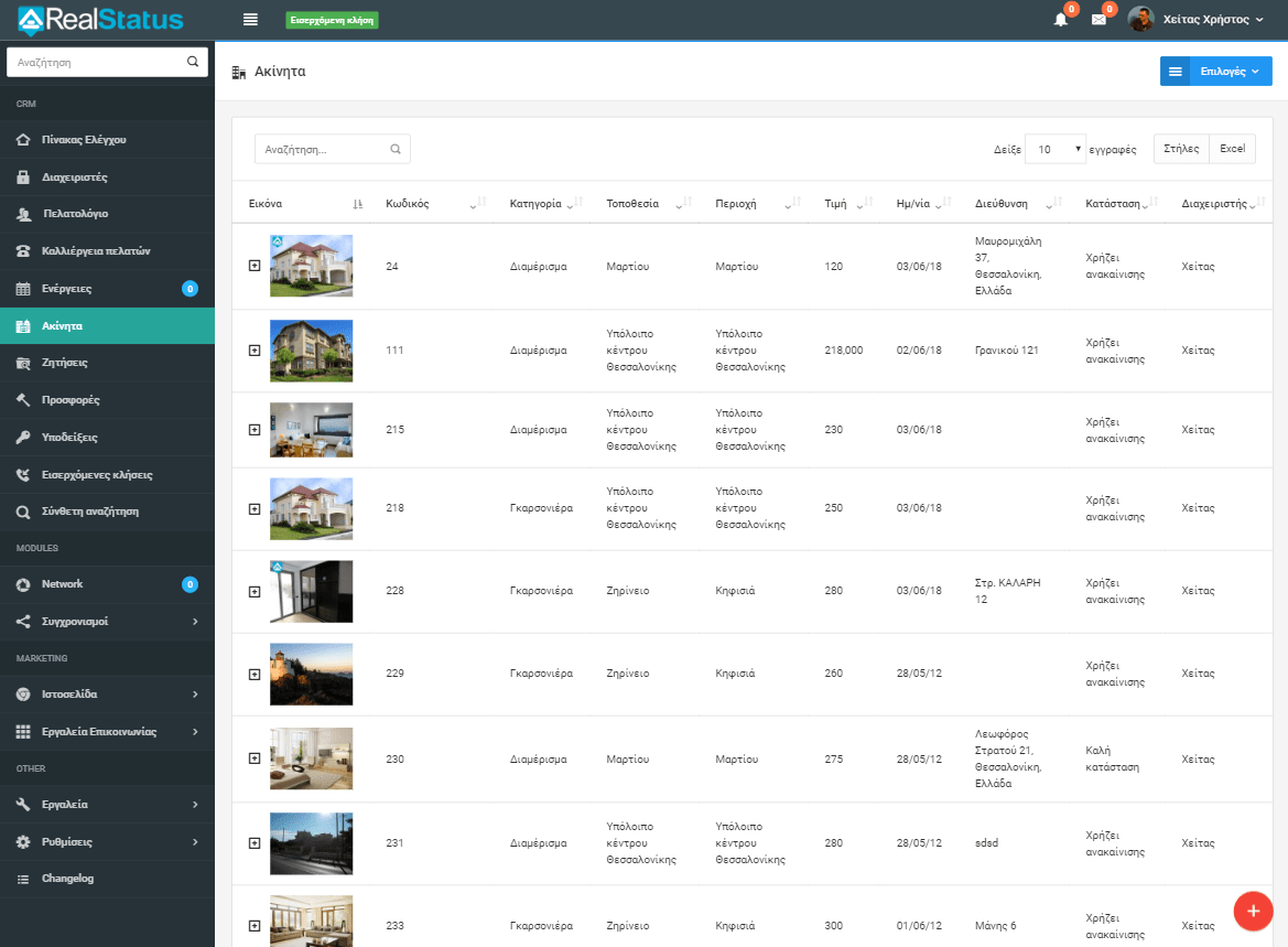 Real Estate Software Real Status
